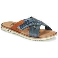 Shoes Men Mules Mustang FRANNA Marine