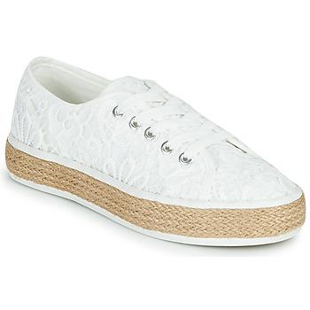 Shoes Women Low top trainers Banana Moon ECHA MURRAY White