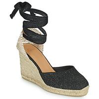Shoes Women Sandals Castaner CARINA Black / Gold