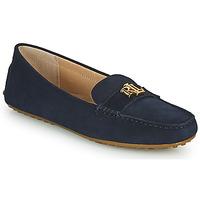 Shoes Women Loafers Lauren Ralph Lauren BARNSBURY FLATS CASUAL Marine