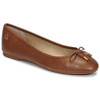 Shoes Women Flat shoes Lauren Ralph Lauren JAYNA Cognac