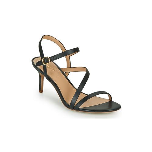 Shoes Women Sandals Lauren Ralph Lauren LANDYN Black