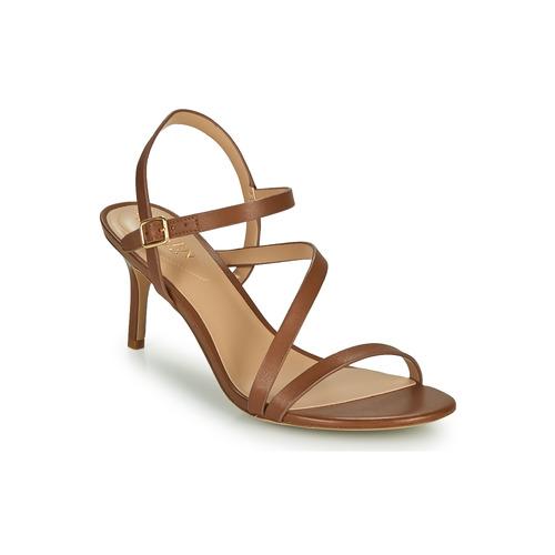 Shoes Women Sandals Lauren Ralph Lauren LANDYN Cognac