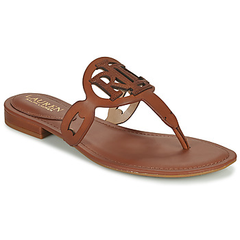Shoes Women Sandals Lauren Ralph Lauren AUDRIE Cognac