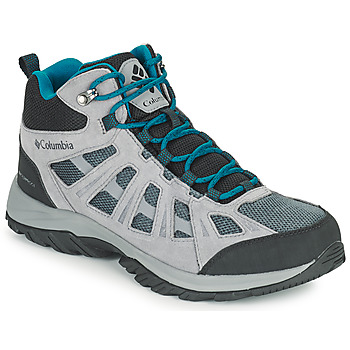 Shoes Men Walking shoes Columbia REDMOND III MID WATERPROOF Grey