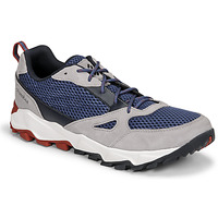 Shoes Men Low top trainers Columbia IVO TRAIL BREEZE Grey / Blue