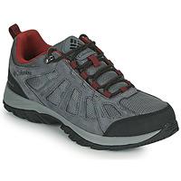 Shoes Men Walking shoes Columbia REDMOND III WATERPROOF Grey