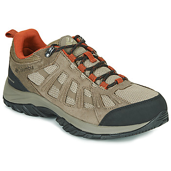 Shoes Men Walking shoes Columbia REDMOND III WATERPROOF Brown