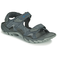 Shoes Men Outdoor sandals Columbia SANTIAM 3 STRAP Grey