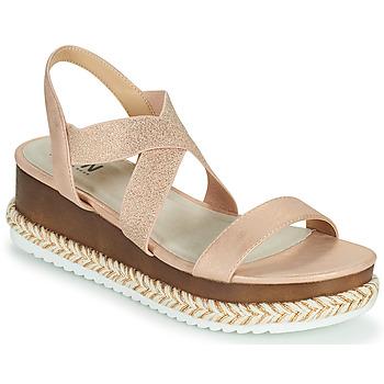 Shoes Women Sandals Elue par nous JELLYA Pink / Silver