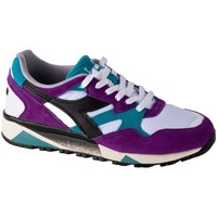 Shoes Men Low top trainers Diadora N9002 White,Blue,Violet
