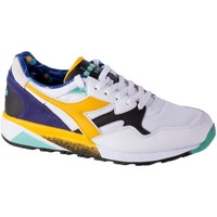 Shoes Men Low top trainers Diadora N9002 Kromadecka White,Blue,Yellow