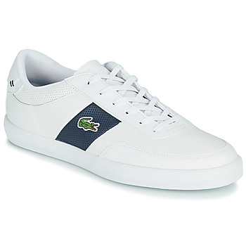 Shoes Men Low top trainers Lacoste COURT-MASTER 0721 1 CMA White / Marine