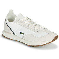 Shoes Men Low top trainers Lacoste MATCH BREAK 0721 1 SMA Beige / Green