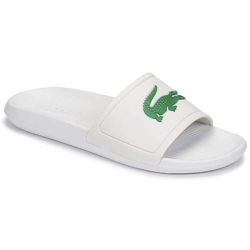 Shoes Men Sliders Lacoste CROCO SLIDE 119 1 CMA White / Green
