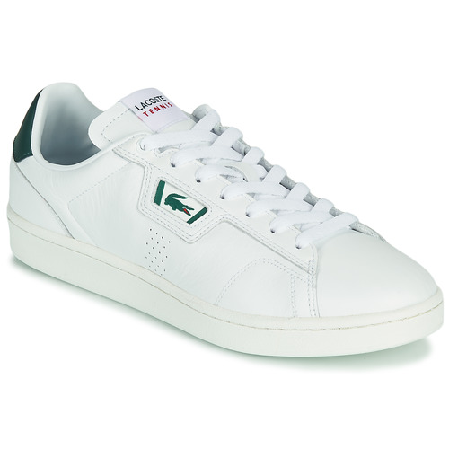 Shoes Men Low top trainers Lacoste MASTERS CLASSIC 07211 SMA White / Green