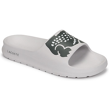 Shoes Women Sliders Lacoste CROCO 2.0 0721 1 CFA White / Black