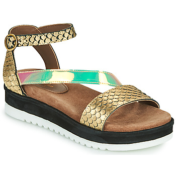 Shoes Women Sandals Metamorf'Ose JANIS Gold
