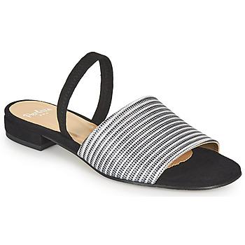 Shoes Women Sandals Perlato 11117-YORK-ARGENT-CAM-NOIR Black / Silver