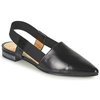 Shoes Women Sandals Perlato 11003-JAMAICA-VERNIS-NOIR Black