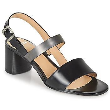 Shoes Women Sandals Perlato 11805-JAMAICA-NOIR Black