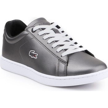 Shoes Women Low top trainers Lacoste Carnaby Evo 317 7-34SPW0010024 silver