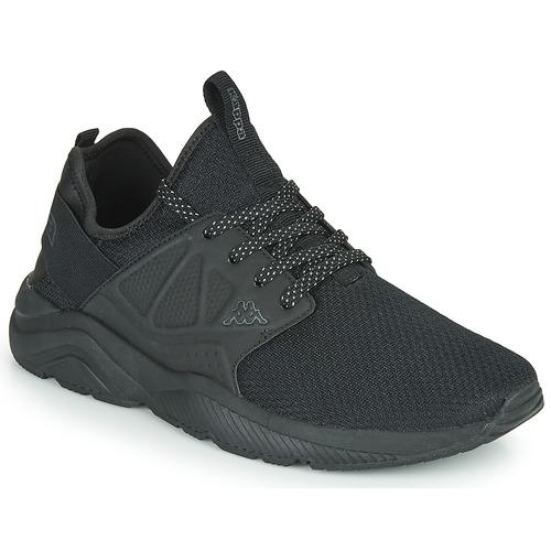 Shoes Men Low top trainers Kappa SAN DIEGO Black