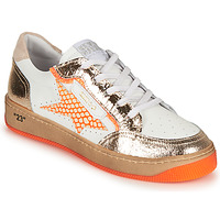 Shoes Women Low top trainers Semerdjian ARTO White / Orange