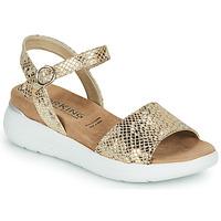Shoes Women Sandals Dorking ROCK Gold