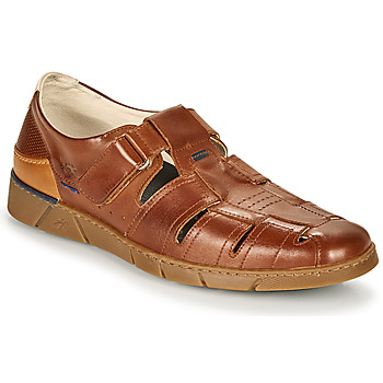 Shoes Men Sandals Fluchos 1155-HABANA-CAMEL Brown