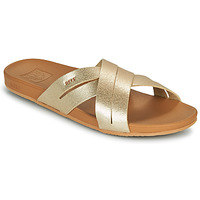 Shoes Women Sliders Reef CUSHION SPRING BLOOM Gold