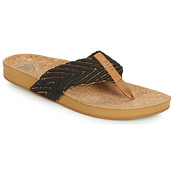 Shoes Women Flip flops Reef REEF CUSHION STRAND Black