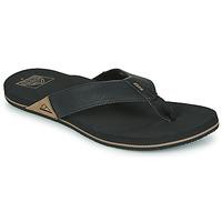 Shoes Men Flip flops Reef REEF NEWPORT Black