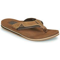 Shoes Men Flip flops Reef CUSHION DAWN Brown