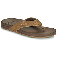 Shoes Men Flip flops Reef CUSHION SPRING Brown