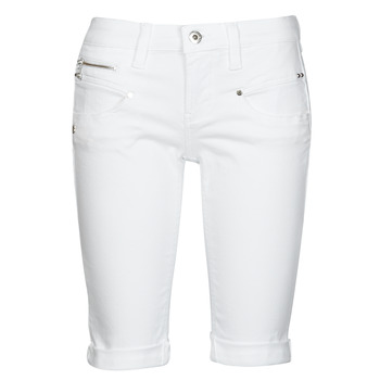 Clothing Women Shorts / Bermudas Freeman T.Porter BELIXA White