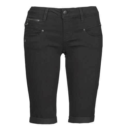 Clothing Women Shorts / Bermudas Freeman T.Porter BELIXA  black