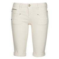 Clothing Women Shorts / Bermudas Freeman T.Porter BELIXA Butter / Cream