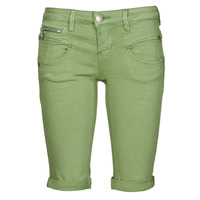Clothing Women Shorts / Bermudas Freeman T.Porter BELIXA Turf / Green