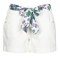 Clothing Women Shorts / Bermudas Freeman T.Porter GINGER MUZEY Snow / White