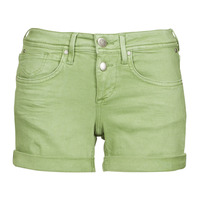 Clothing Women Shorts / Bermudas Freeman T.Porter ROMIE NEW MAGIC COLOR Turf / Green