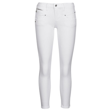 Clothing Women 5-pocket trousers Freeman T.Porter ALEXA CROPPED S-SDM White