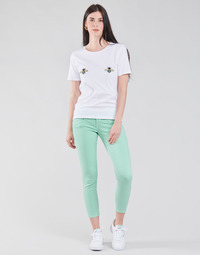 Clothing Women 5-pocket trousers Freeman T.Porter ALEXA CROPPED NEW MAGIC COLOR Blue
