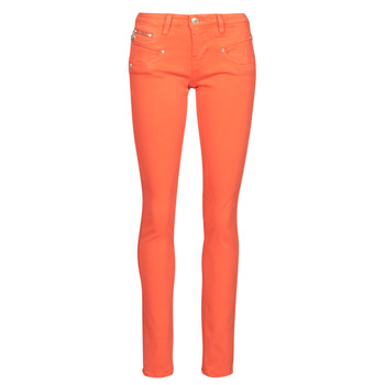Clothing Women 5-pocket trousers Freeman T.Porter ALEXA SLIM NEW MAGIC COLOR Red