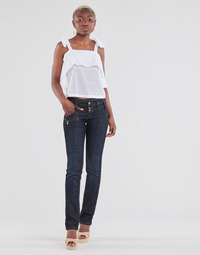Clothing Women Straight jeans Freeman T.Porter AMELIE SDM Eclipse