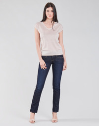 Clothing Women Straight jeans Freeman T.Porter MADIE SDM Eclipse