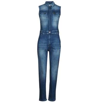 Clothing Women Jumpsuits / Dungarees Freeman T.Porter ELEONORE S-SDM Blue