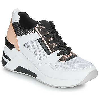 Shoes Women Low top trainers Tom Tailor JISEL Silver