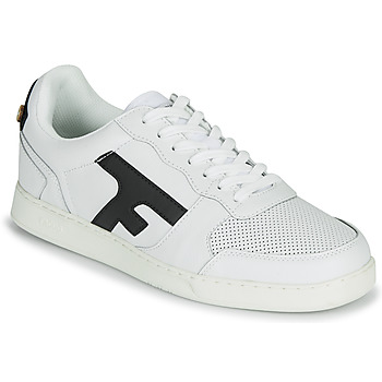 Shoes Men Low top trainers Faguo HAZEL LEATHER White / Marine