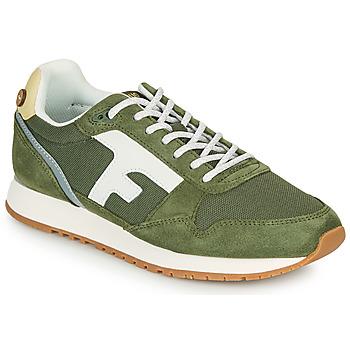 Shoes Low top trainers Faguo ELM Kaki / White / Yellow